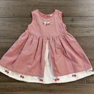 Vintage Gap  strawberry dress